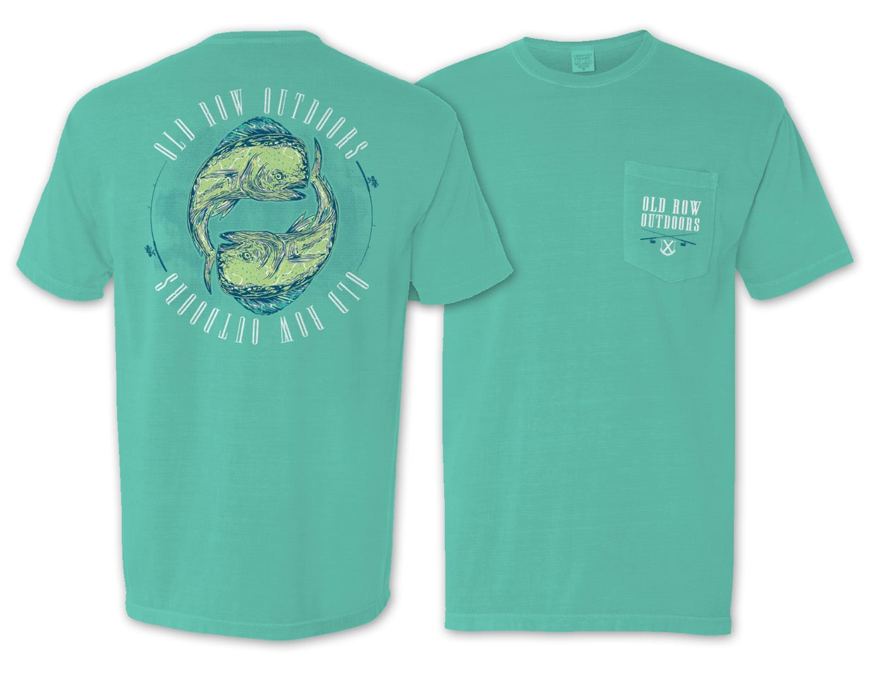 Old Row Outdoors Mahi Yin Yang Pocket Tee