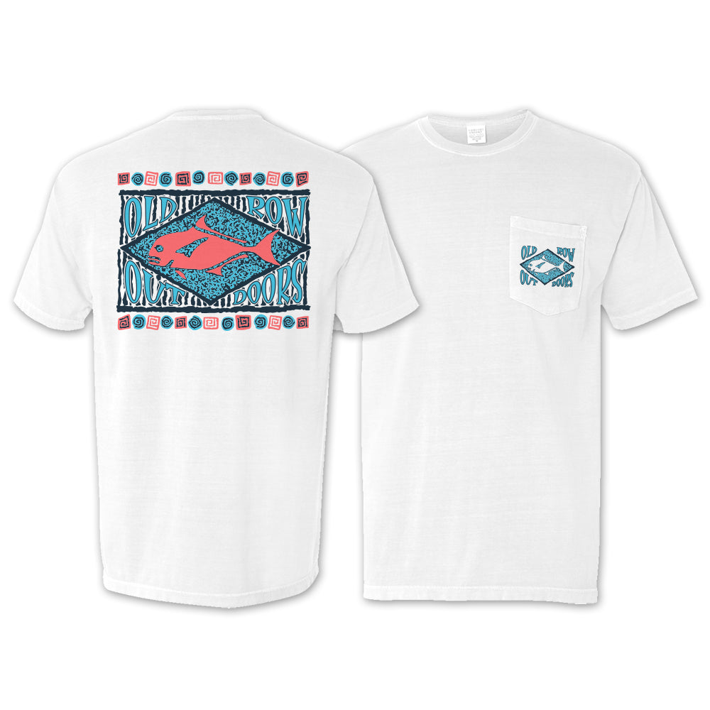 Old Row Outdoors 90s Angler Pocket Tee