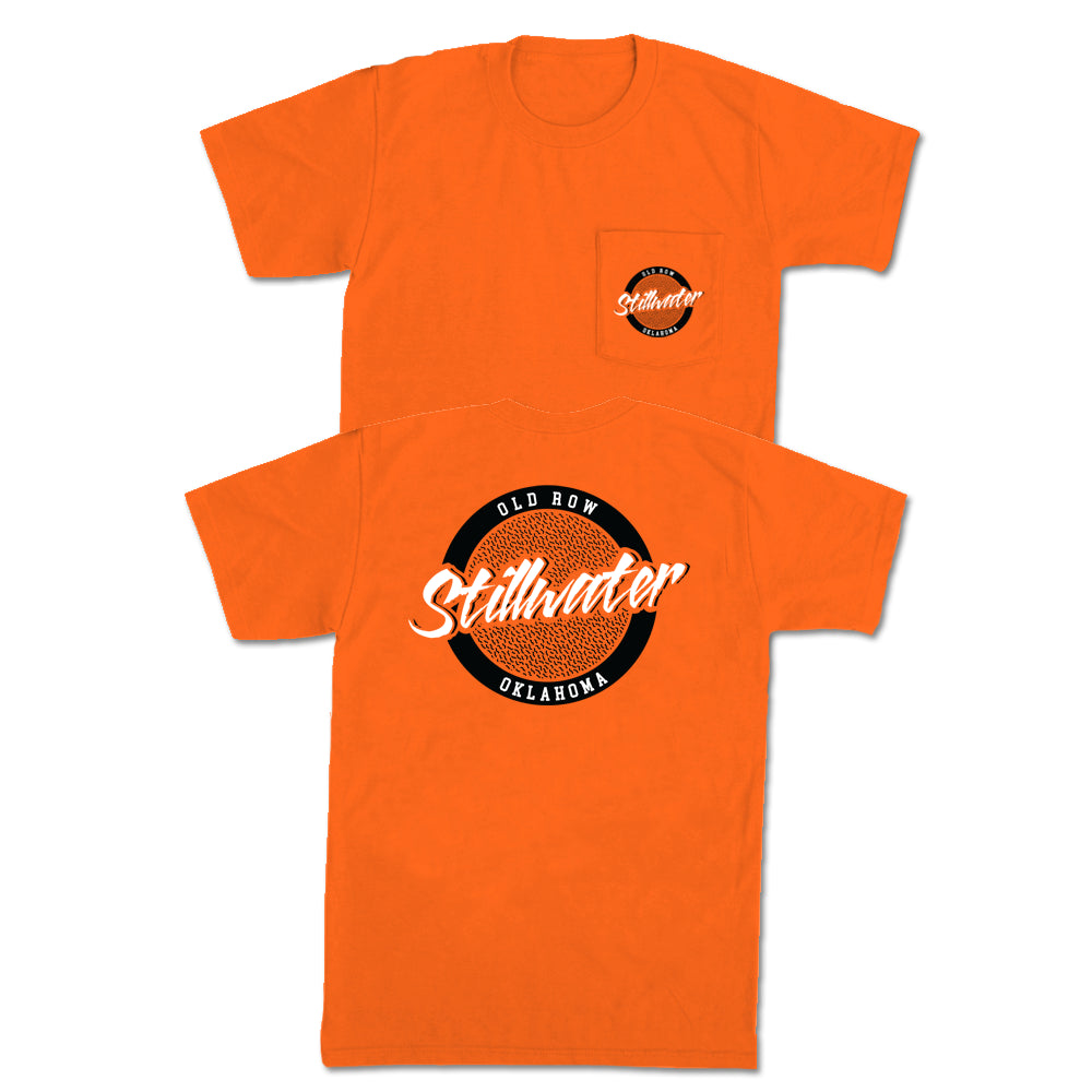 Stillwater, Oklahoma Circle Logo Pocket Tee