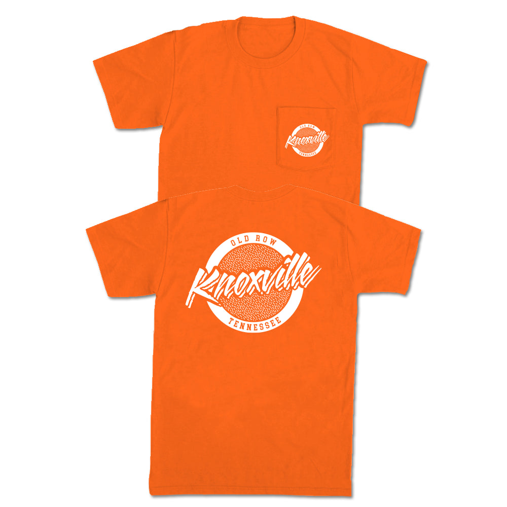 Knoxville, Tennessee Circle Logo Pocket Tee
