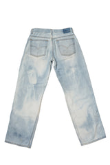 TURN BLUE // DISTRESSED DENIM JEANS