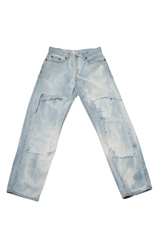 ATOMIC // LIGHT WASH JEANS