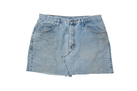 YOUNG TURKS // DENIM SKIRT