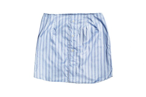 TIED2U // BLUE STRIPED SKIRT