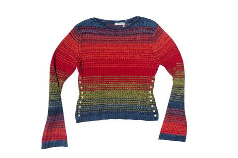 THE FIRST TASTE // MULTI COLOR SWEATER