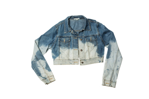 DAY DREAM // CROPPED DENIM JACKET