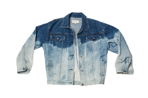 DAY DREAM // BLEACHED DENIM JACKET