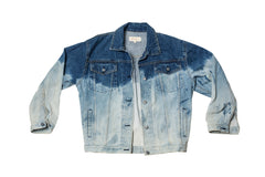 DAY DREAM // LARGE BLEACHED DENIM JACKET