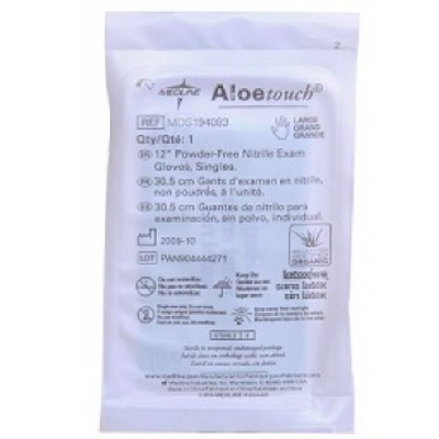 Gloves - Nitrile Exam Sterile with Aloetouch