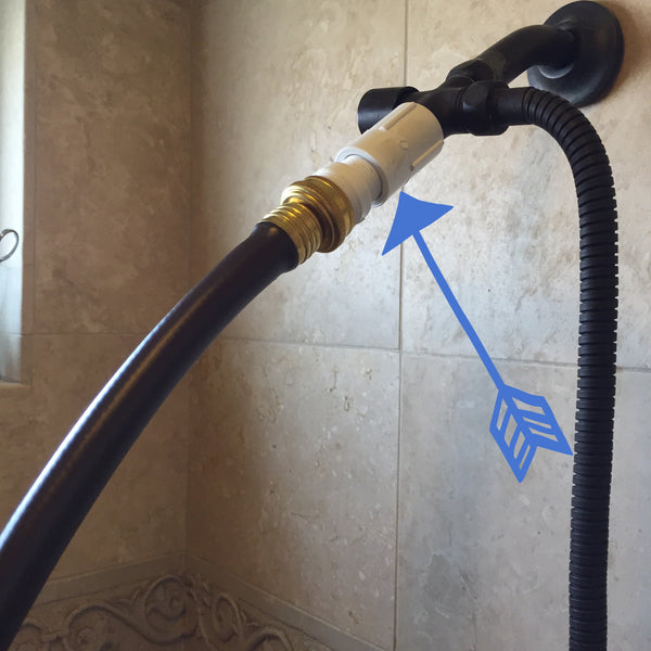 Hose / Shower Faucet Adapter