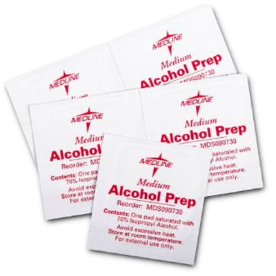 Alcohol Prep Pad - Medium