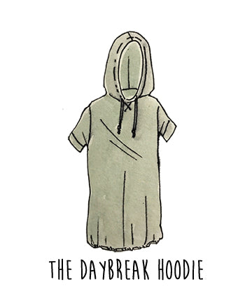 Daybreak Hoodie Dress - Ethical and Organic Clothing