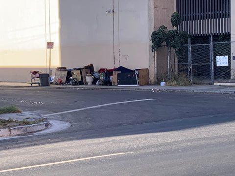 Scene in Los Angeles | Homeless Epidemic