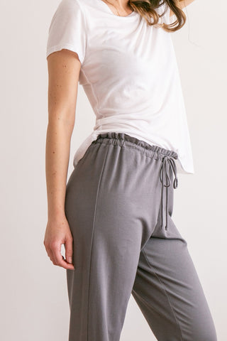 Sunset Flare Pant in Charcoal