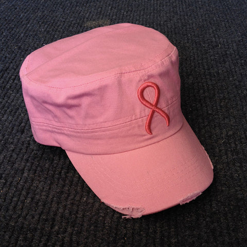 Pink Ribbon Conductor Hat