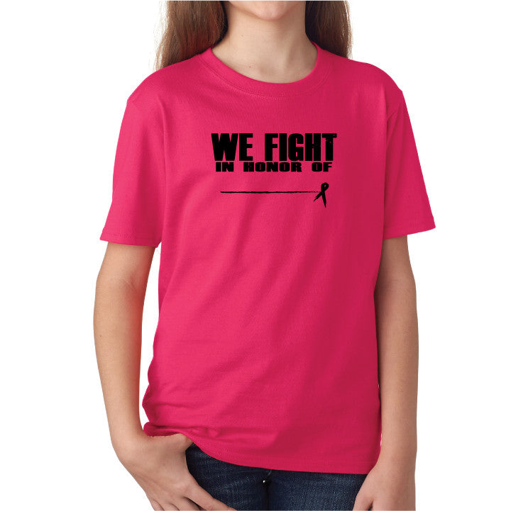 Honor Kids Tee- Pink/Blk
