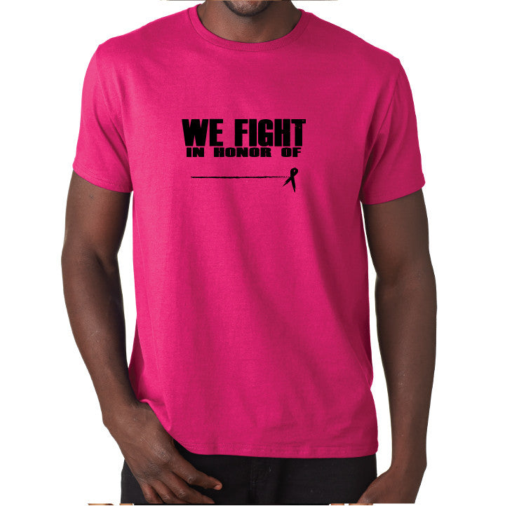 Honor Men's T- Pink/Blk