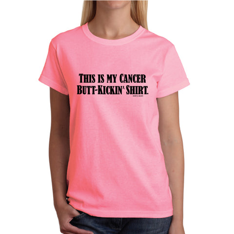 Buttkick Casual T - Pink/Black