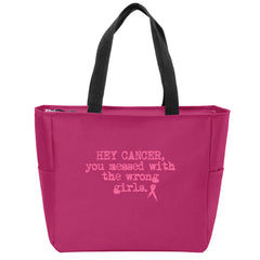Wrongirls Zip Tote- Pink