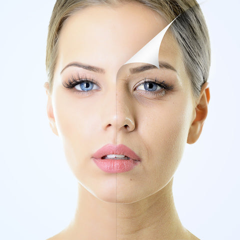 acid and enzyme peels to resurface skin