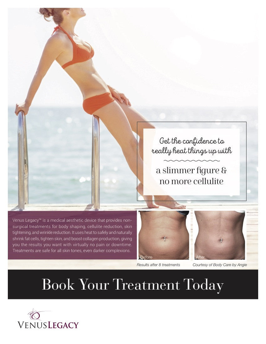 Tighten and firm tummy for summer. Plus reduce cellulite and fat. treatment victoria bc