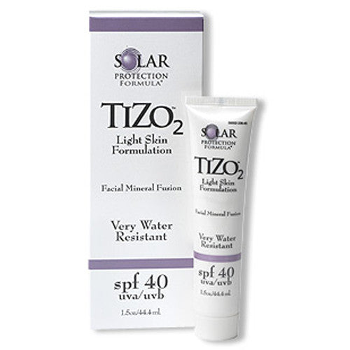 Tizo 2 light skin formulation (SPF 40)