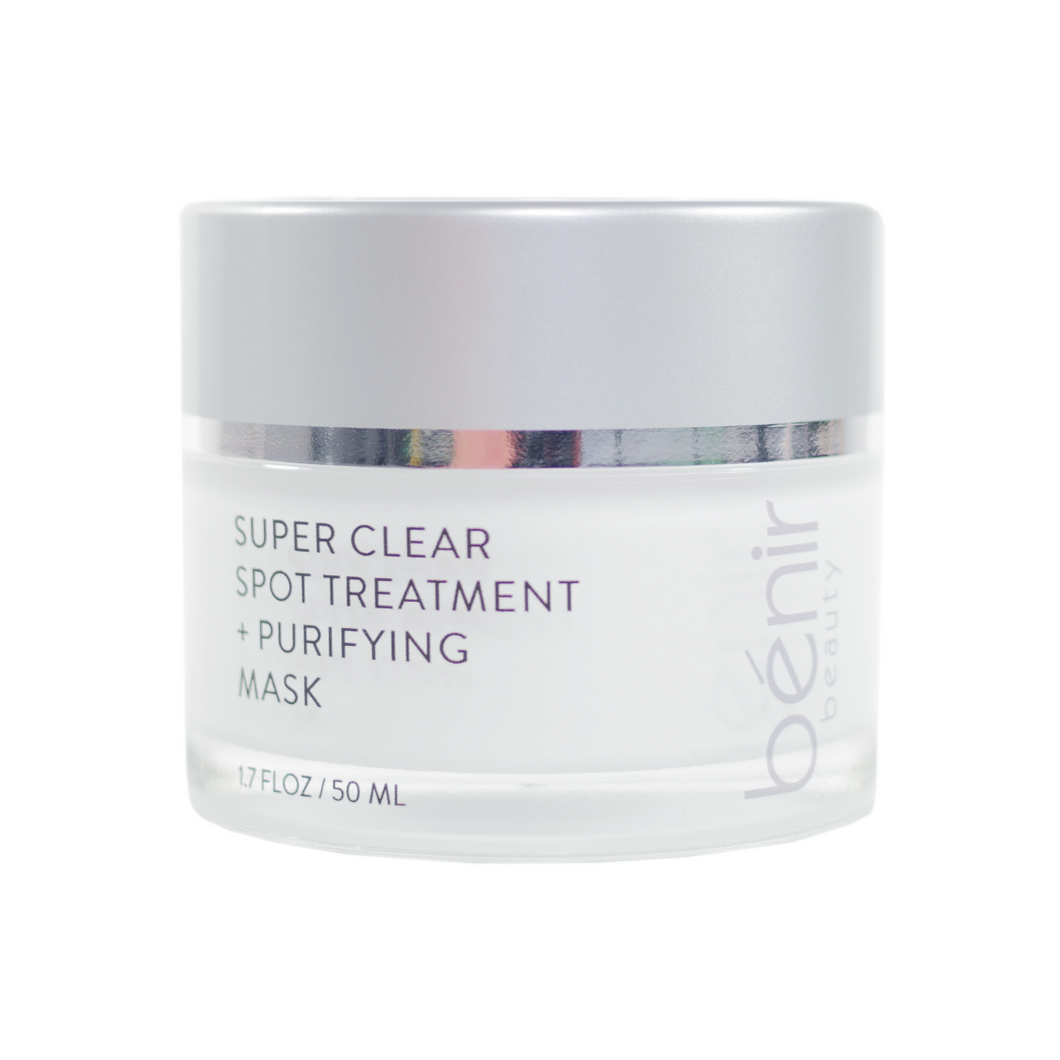 Super Clear Spot Treatment + Clarifying Mask - In Stock!