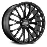 ADVANTI RACING SVELTO 20 X 10 +35 5 X 114.3 CB73.1 MATTE BLACK MACHINE FACE
