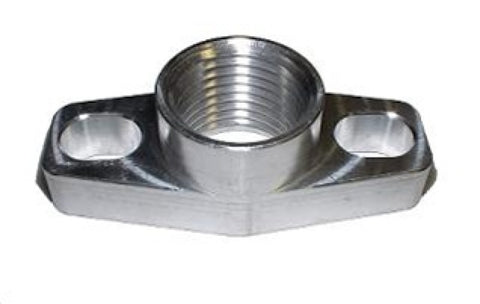 Torque Solution TS-UNI-003 Billet Oil Drain Flange: Universal GT Ball Bearing Turbos