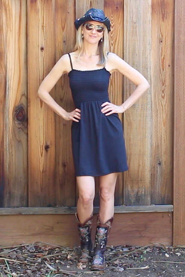 Tube Top Dress - Black - Groutfit Apparel