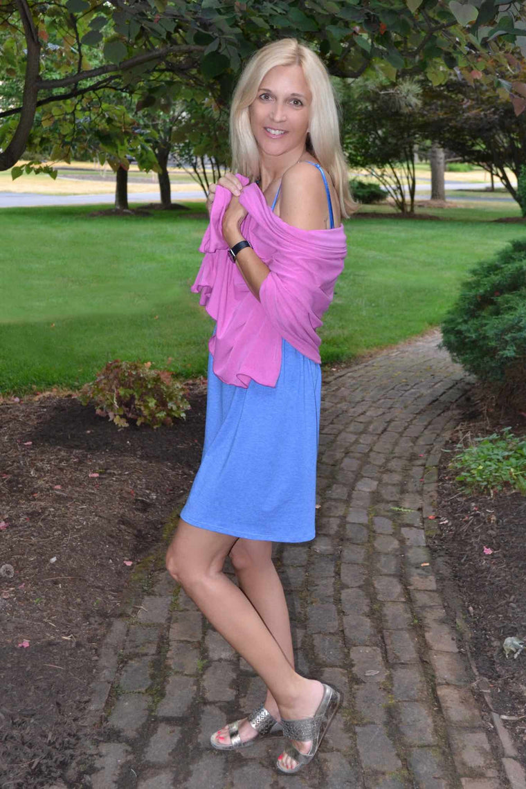 Versatile Scarf - Pink - Groutfit Apparel  - 1