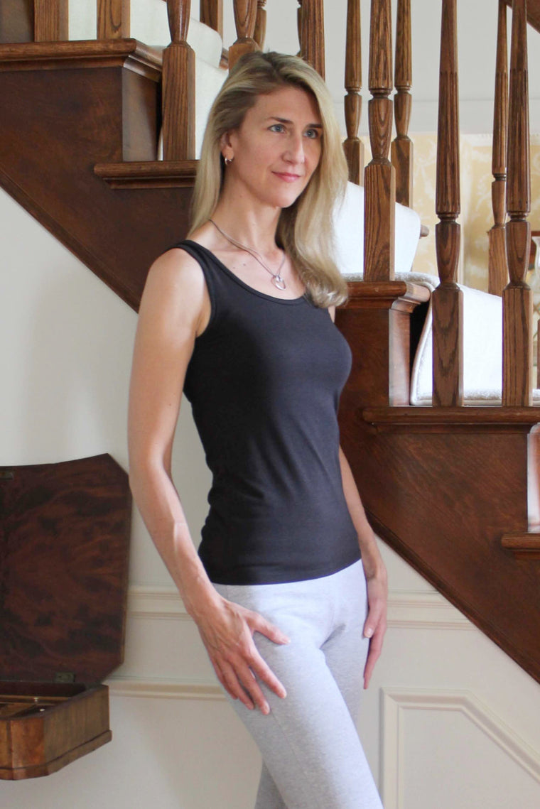 Tango Tank Top - Black - Groutfit Apparel  - 1