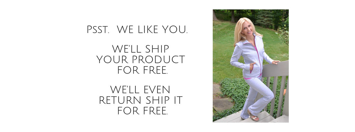 We Like you. Free Shipping and Returns