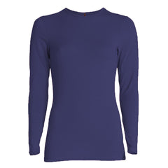 LONG SLEEVE LUXURY LAYERING TOP - MODAL - CREW NECK