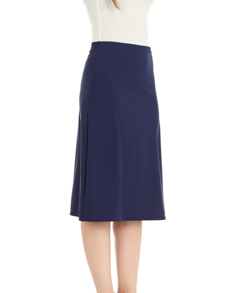 A-line Solid Swim Skirt