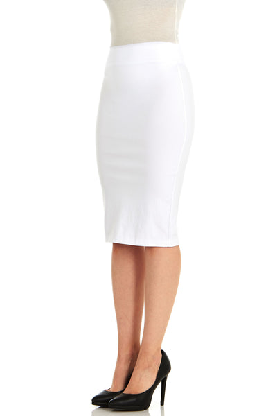 Millennium Stretch Fitted Pencil Skirt