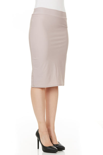 Swim pencil skirt