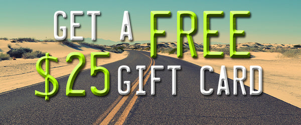 Get a Free $25 Gift Card