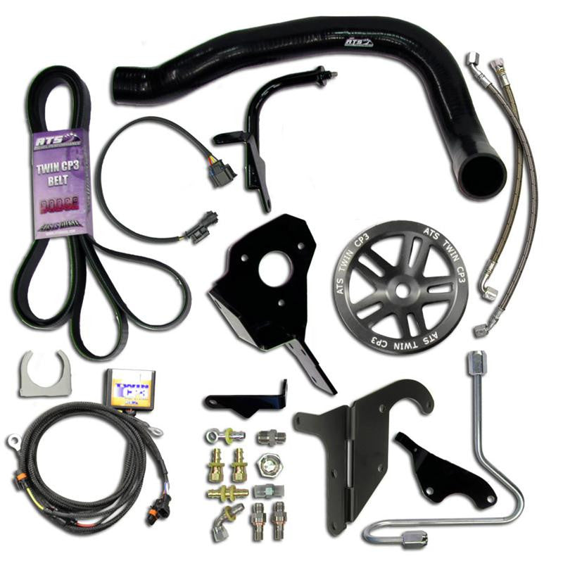 ATS Twin Fueler (No Pump) Kit, 2004.5-2007 Dodge 5.9L Cummins w/out pump