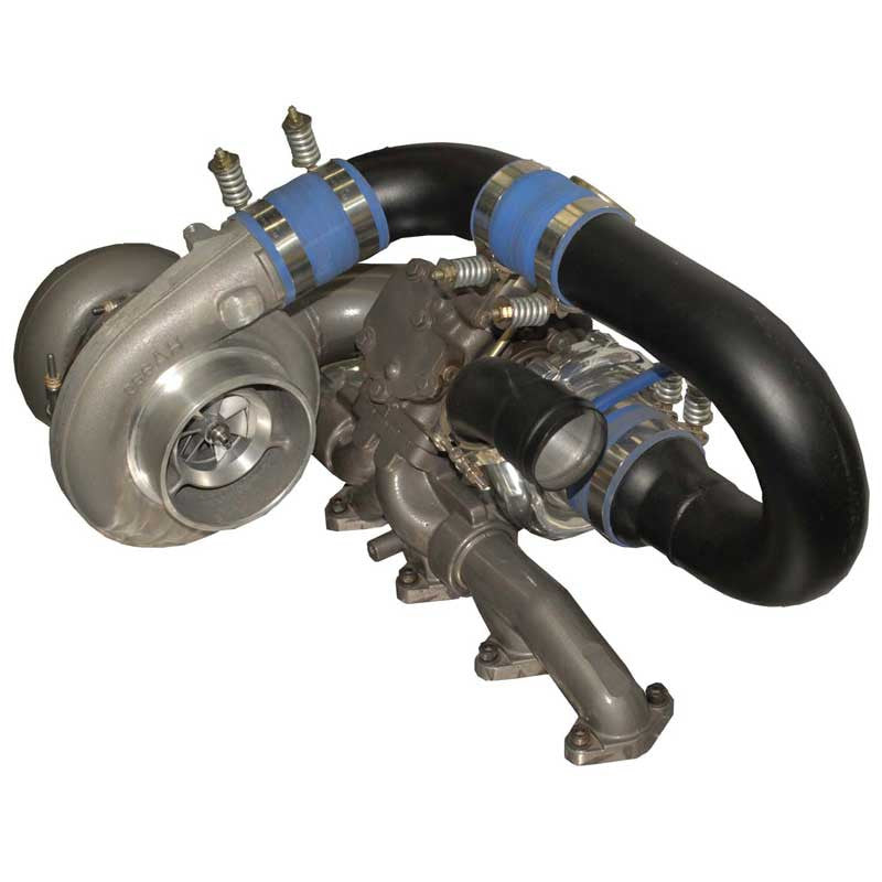 BD RT700 Track Master Twin Turbo Kit 07.5-09 6.7L