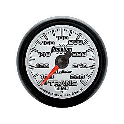 Auto Meter Phantom II Series Transmission Temp. Gauge 7557