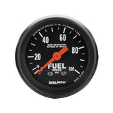 Auto Meter Z-Series Fuel Pressure Gauge Kit 2612