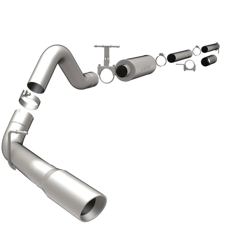 "Magnaflow 4"" Down Pipe Back Stainless Steel Exhaust 1999-03 7.3L Powerstroke EC-CC/SB-LB"