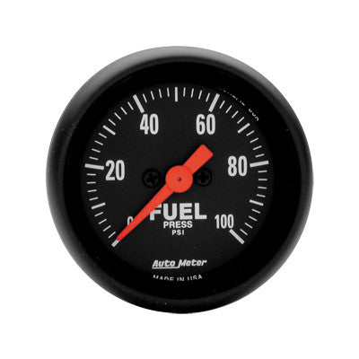 Auto Meter Z-Series Fuel Pressure Gauge Kit 2663