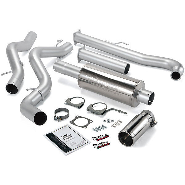 BANKS POWER SINGLE MONSTER EXHAUST SYSTEM