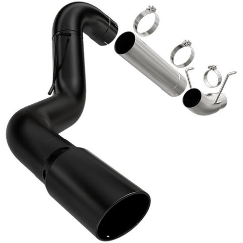 "4"" Turbo Back No Muffler Exhaust 2004.5-07 5.9L Cummins"