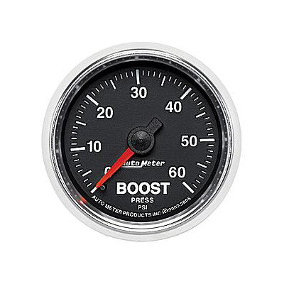 Auto Meter 3805 GS Series Boost Gauge