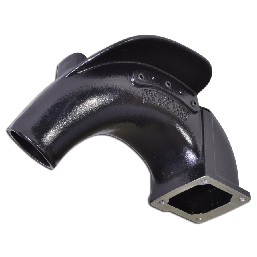 ArcFlow Intake, Black - 1998-2002 Dodge 24-Valve 5.9L Cummins