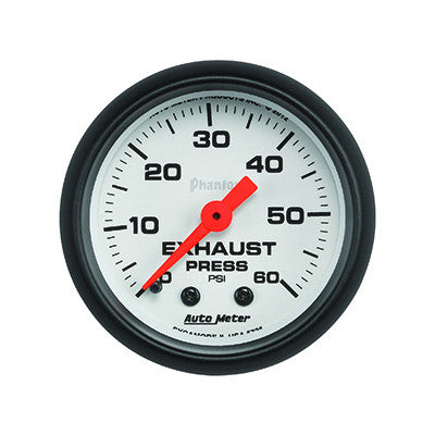 Auto Meter 5725 Phantom Series Exhaust Pressure Gauge