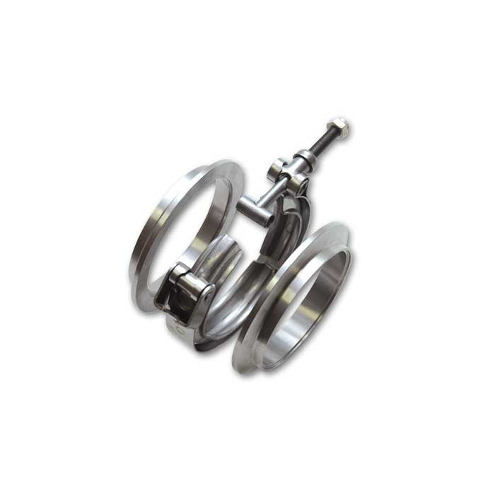"VIBRANT 1492 3.5"" STAINLESS STEEL V-BAND FLANGE ASSEMBLY"